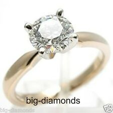 2.00Ct IGI Certified Solitaire White Natural Diamond Engagement Ring 14K Gold
