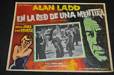 The Man in the Net Alan Ladd 16x12 Mexico Movie Poster - (1959) ITB WH