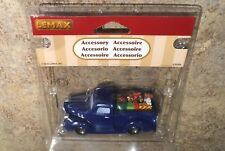 Lemax BLUE Pick-Up Truck with Gifts /dog -Village Accessory