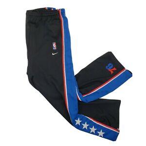 Vintage Nike Rewind 77 Philadelphia 76ers Warm Up Snap Pants YOUTH X-Large (20)
