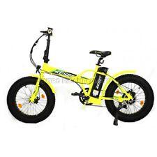 Bicicletta Elettrica Fat Bike Redwood 2018 Pieghevole Ruota 20 48v 500w gialla