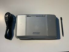 Nintendo DS Original NTR-001 Console w/ Charger Titanium Silver Tested Works
