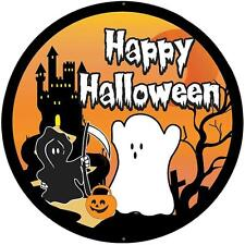 sticker decal car bike bumper halloween spooky kid horror happy ghost