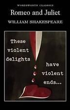 Romeo and Juliet (Wordsworth Classics), William Shakespeare Paperback Book