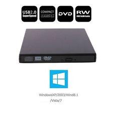 Newest USB 2.0 Combo Player DVD RW Burner Writer Drive External A++