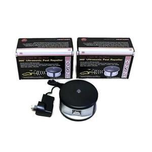 Enviro Bug Control - 360 Degree Ultrasonic Pest Repeller - Basic - 2 Pack