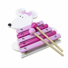 Orange tree toys pink mouse xylophone musical toy girls first birthday christmas