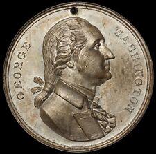 1889 Washington Inauguration Centennial Equestrian 44mm Medal D-13B - NGC MS 61