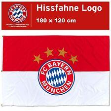 Hissfahne Logo FC Bayern München 180 x 120 cm Flagge Fahne Hissflagge Sterne FCB