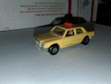 Matchbox Lesney Mercedes Benz 458 SEL TAXI No. 56 England