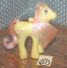 Rosedust Flutter Ponies My Little Pony 1986 G1 original Vintage Hasbro yellow