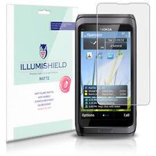 iLLumiShield Matte Screen Protector w Anti-Glare/Print 3x for Nokia E7