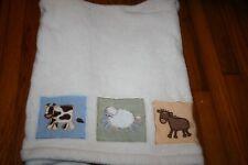 RARE/VHTF Kidsline?  Plush baby blanket cow sheep donkey
