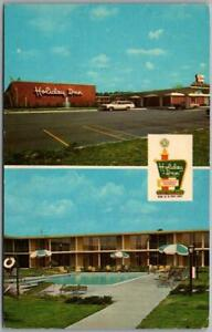 COLUMBIA, South Carolina Postcard HOLIDAY INN (Northwest) Pool View 1960s Unused