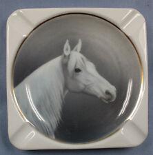 Pferd Porzellan aschenbecher figur  Kästner Saxonia sehr selten 1940
