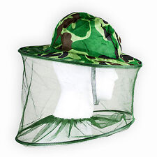 Ostart Camouflage Mosquito Bug Insect Net Bee Mesh Head Face Protect Fishing Hat