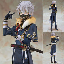 Anime Gift Touken Ranbu Online Action Nakigitsune PVC Statue Figure No Box 22cm
