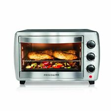 Frigidaire Classic 6 Setting 6 Slice Stainless Steel Convection Toaster Oven