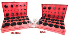 826 Pcs O-Ring Assortment Set Plumbing Metric SAE Orings Rubber Gasket Tool Kit