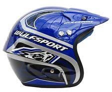 Wulfsport Airflo Helmet Blue XXL Motorbike Motocross MX Helmet Head Trials
