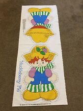 Vintage Huckleberry Pie Fabric Panel From The World Of Strawberry Shortcake