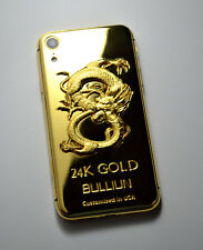 24K Gold Plated Dragon edition over iphone XR - 64GB (Unlocked) super luxury