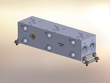 Hydraulic manifold A5P35S // AD05P035S // BM-ASP05S5-03-1/Z // BAO5GPT03SDUAAAA