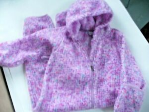 Columbia One Piece Full Body Suit Toddler Size 18-24 Months Purple Hood EUC