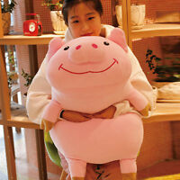 35''Giant Soft Pig Plush Pillow Toy Piggy Stuffed Animal Doll Kids Birthday Gift