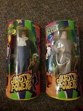 """Austin Powers Vintage Action Figures Posable Dolls Dr Evil Vintage 1998 9"""""""