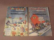 2 x Kinderheft Schmetterling - um 1935 - Crimmitschau Geschäftshaus Rost