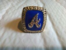 1999 Atlanta Braves Championship Fan Ring (BOONE) sz 11