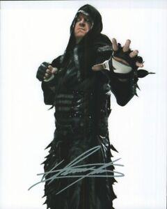 The Undertaker Autographed 8x10 Photograph Professional Wrestler WWE COA TTM