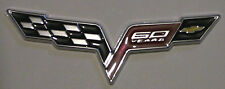 New CORVETTE 60 Years Anniversary Emblem Replaces OEM FENDER Badge / Decal