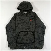 Adidas Hoodie   XL   Grey/Black   Skateboarding   Rare
