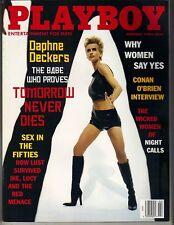 DAPHNE DECKERS Playboy Magazine 2/98 CONAN O'BRIEN