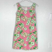 Lily Pulitzer Cotton Nina Dress Pretty Pink Tootie SZ 0