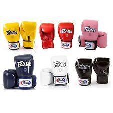 Fairtex Bgv1 Solid Color Sporting Train Mma Martial Arts Muay Thai Boxing Gloves
