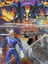 1996 ToyBiz X-Men Mutant Armor Series Quicksilver Figure Quantum Speed Sled New