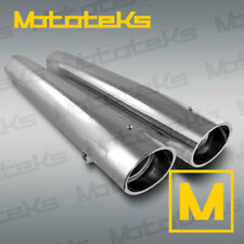 INDIAN SLIP ON MUFFLERS FOR INDIAN CHIEF ROADMASTER CRUISER BAGGER MODELS NEW