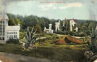 St. Joseph MO 1908 Krug Park - Antique Color POSTCARD