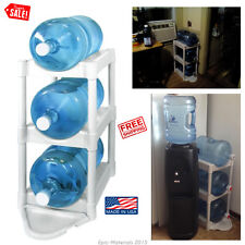 Water Bottle Rack 3 Shelves Tier Storage Holder Containing Floor Protect Kitchen