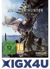 Monster Hunter: World Standard Edition -PC Key Steam Digital Download Code DE/EU