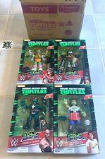Teenage Mutant Ninja Turtles Series 2 Lot of 4 Figurines NIB 2017