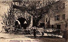 CPA SOLLIÉS VILLE La Placette-La Halle (411180)