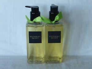 2 Lime Blossom Hand & Body Cleansing Gel Victoria's Secret 8.4 Oz