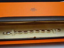 Authentic Hermes Silver 925 ' Grains de café ' Bracelet