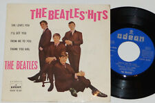 """THE BEATLES -The Beatles' Hits- 7"""" EP 45 Odeon Records Spanien Pressung"""