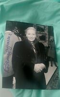 ROSEMARY HARRIS SIGNED 8X10 PHOTO SPIDER-MAN AUNT MAY W/COA+PROOF RARE WOW