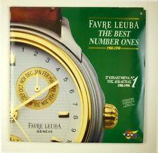 "2 x 12"" LP - Various - Favre Leuba The Best Number Ones  - B1371"